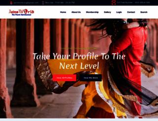jainsworld.org screenshot