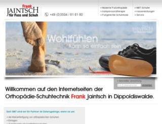 jaintsch-schuhe.de screenshot