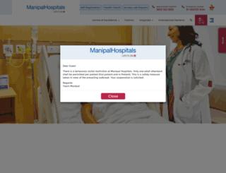 jaipur.manipalhospitals.com screenshot