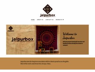 jaipurbox.com screenshot