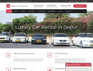 jaipurcarrental.org screenshot