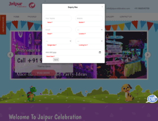 jaipurcelebration.com screenshot