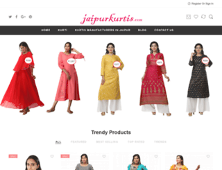 jaipurkurtis.com screenshot