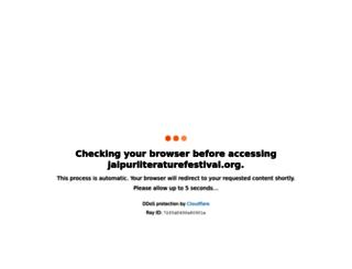 jaipurliteraturefestival.org screenshot