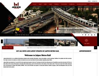 jaipurmetrorail.info screenshot