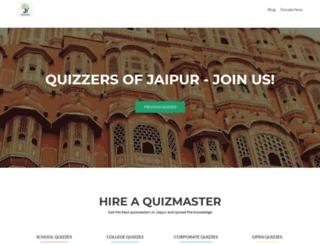 jaipurquizclub.com screenshot