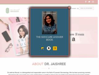 jaishreesharad.com screenshot
