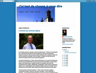 jaitantdechosesavousdire.blogspot.fr screenshot