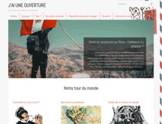 jaiuneouverture.com screenshot