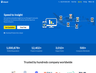 jajakpendapat.net screenshot