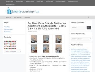 jakarta-apartment.net screenshot