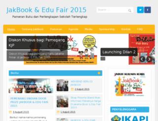 jakartabookfair.com screenshot