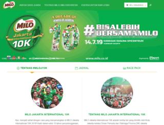 jakartainternational10k.com screenshot