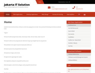 jakartaitsolution.com screenshot