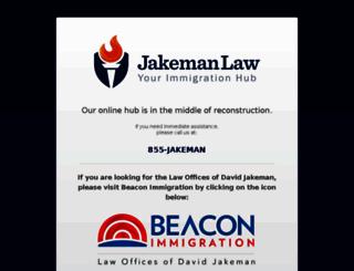 jakemanlaw.com screenshot