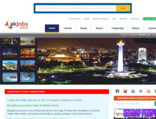jakjobs.co.id screenshot