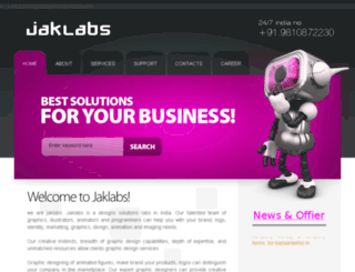 jaklabs.tk screenshot
