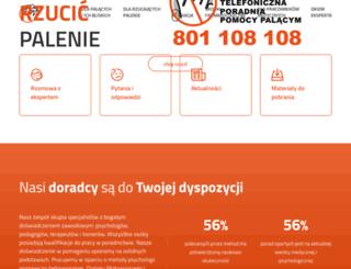 jakrzucicpalenie.pl screenshot