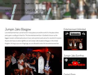 jaksglasgow.com screenshot