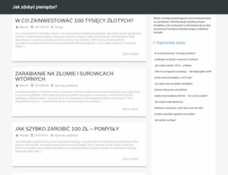 jakzarobicpieniadze.org.pl screenshot