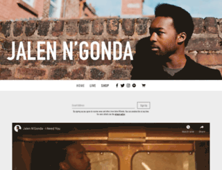 jalenngonda.com screenshot