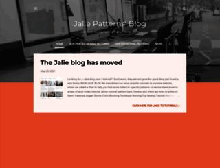 jaliesewingpatterns.blogspot.com screenshot