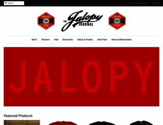 jalopyjournal.myshopify.com screenshot