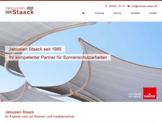jalousien-staack.de screenshot