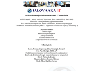jalovaara.com screenshot