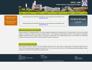 jam.iitkgp.ac.in screenshot
