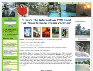 jamaica-dream-vacation.com screenshot