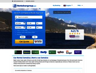 jamaica.rentalcargroup.com screenshot