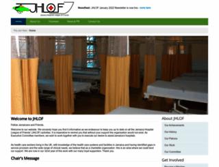 jamaicahospitals.org.uk screenshot