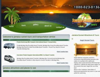 jamaicasunsettours.com screenshot