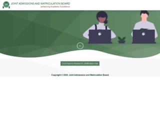 jamb.org.ng screenshot
