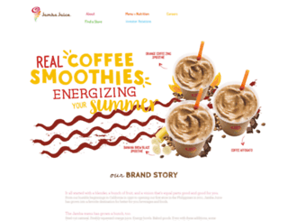 jambajuice.ph screenshot