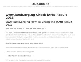 jamborgng.com screenshot