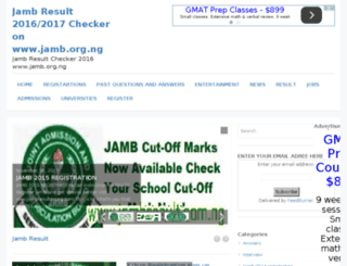 jambresult.com.ng screenshot