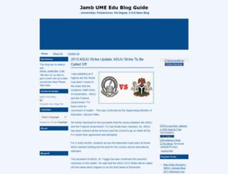 jambume.blogspot.com screenshot