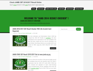 jambutme2013-2014result.blogspot.com screenshot