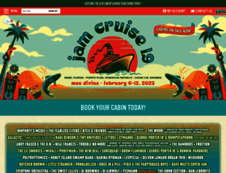jamcruise.com screenshot