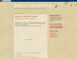 james-bond-fan-23.blogspot.com screenshot