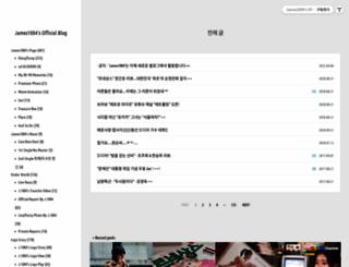 james1004.com screenshot