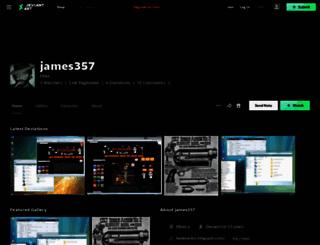 james357.deviantart.com screenshot
