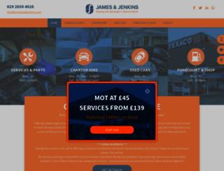 jamesandjenkins.co.uk screenshot