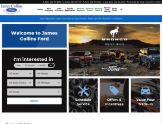 jamescollinsford.net screenshot