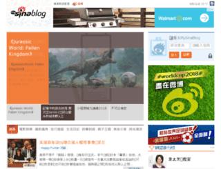 jamesfund.mysinablog.com screenshot