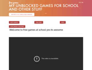 jamesfunschool.weebly.com screenshot