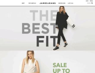 jamesjeans.us screenshot