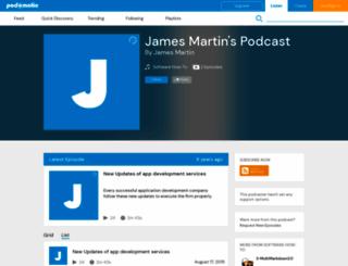 jamesmartin057.podomatic.com screenshot